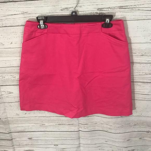 Nike Fit Dry Golf Skirt Fuschia Sz 10